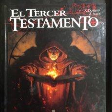 Cómics: EL TERCER TESTAMENTO N.3 LUCAS O EL ALIENTO DEL TORO ( 1998/2001 ). Lote 295296868