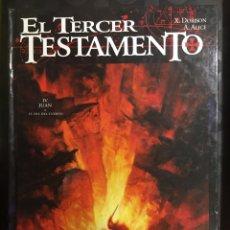 Cómics: EL TERCER TESTAMENTO N.4 JUAN O EL DÍA DEL CUERVO ( 1998/2001 ). Lote 295297448