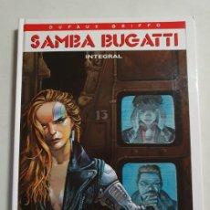 Cómics: SAMBA BUGATTI INTEGRAL EDICIONES GLENAT ESTADO MUY BUENO MAS ARTICULOS. Lote 295413303
