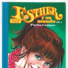 Cómics: ESTHER Y SU MUNDO, SEGUNDA PARTE 2, 2011, GLÉNAT, MUY BUEN ESTADO. Lote 295526963