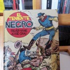 Cómics: * EL TENIENTE NEGRO * GLENAT, 2010 * DE JOSÉ GRAU Y SILVER KANE * COLECCION COMPLETA INTEGRAL *. Lote 296893303