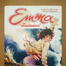 Cómics: EMMA ES ENCANTADORA, POR ANDREU MARTÍN Y TRINI TINTURÉ (GLÉNAT, 2006). COLECCIÓN CLARO DE LUNA.. Lote 297267353