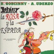 Cómics: ASTERIX, LA ROSA Y LA ESPADA. Lote 26810791