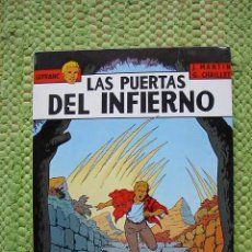 Cómics: LEFRANC, LAS PUERTAS DEL INFIERNO, JACQUES MARTIN, EDICIONES JUNIOR, 1987. Lote 3591606