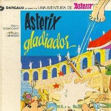 Cómics: ASTERIX GLADIADOR,. 1.978 / 48 PÁGINAS, COLOR, TAPAS DURAS. Lote 24970135