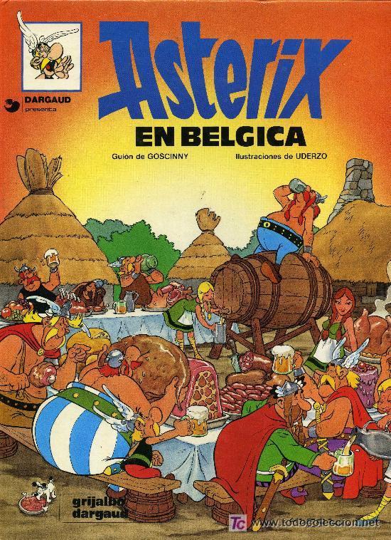 'ASTÉRIX EN BÉLGICA', Nº 24 DE LA COLECCIÓN. TAPAS DURAS. (Tebeos y Comics - Grijalbo - Asterix)