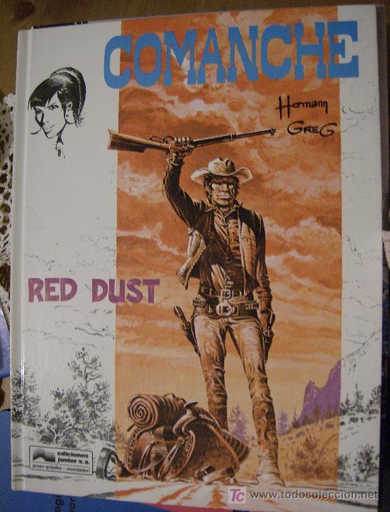 COMANCHE Nº 1: RED DUST. GRIJALBO, 1978. (Tebeos y Comics - Grijalbo - Comanche)