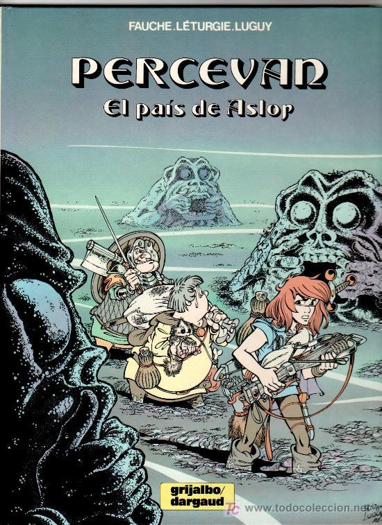 PERCEVAN Nº 4- GRIJALBO- MUY DIFICIL, TAPA DURA , MUY NUEVO, EL PAÍS DE ASLOR (Tebeos y Comics - Grijalbo - Percevan)