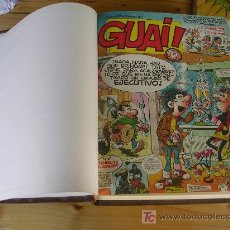 Cómics: REVISTA GUAI GRIJALBO DEL 1 AL 45 ENCUADERNADO EN TRES TOMOS. Lote 24855131