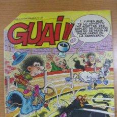 Cómics: GUAI, Nº 57, ED. JUNIOR, AÑO 1987. Lote 7076937