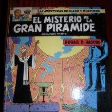 Cómics: AVENTURAS DE BLAKE Y MORTIMER EL MISTERIO DE LA GRAN PIRAMIDE SEGUNDA PARTE. Lote 26931892