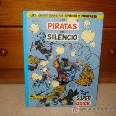 Cómics: SPIROU Y FANTASIO - LOS PIRATAS DEL SILENCIO - JUNIOR 1982. Lote 7717035