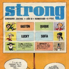 Cómics: STRONG Nº69 ( HISTORIETAS DE LUCKY LUKE, SOFIA, GASTÓN EL GAFE,...). Lote 7838902