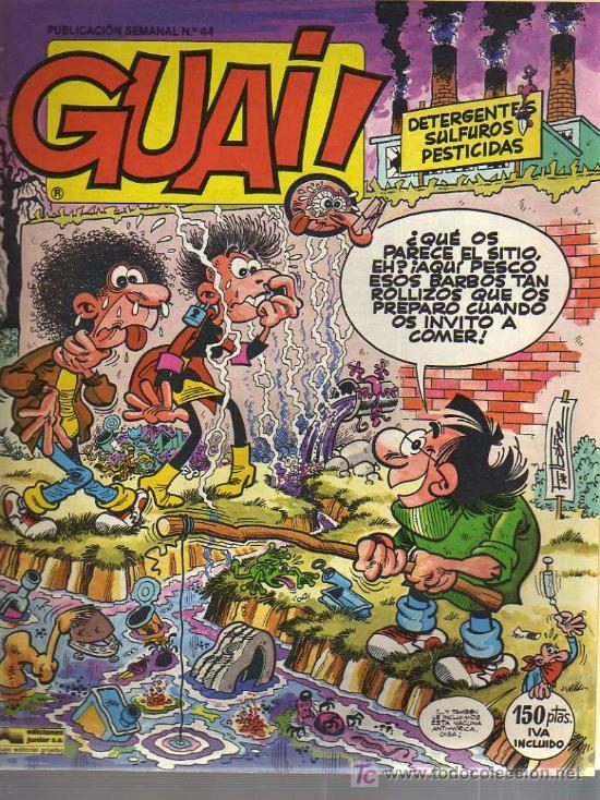GUAI - ED. GRIJALBO - Nº 44 - 1986 (Tebeos y Comics - Grijalbo - Otros)