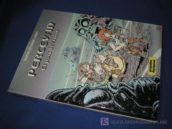 PERCEVAN Nº 4 - EL PAIS DE ASLOR - GRIJALBO 1986 (Tebeos y Comics - Grijalbo - Percevan)