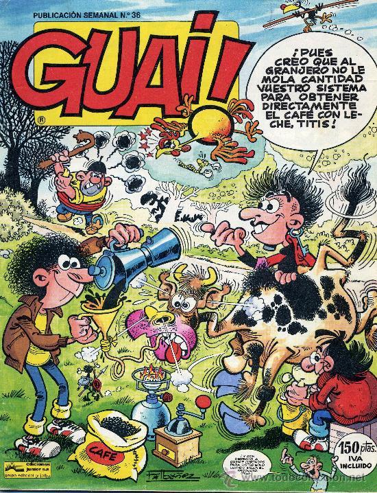 GUAI Nº36 (HISTORIETAS DE IBAÑEZ, IZNOGOUD, MIRLOWE,...) (Tebeos y Comics - Grijalbo - Iznogoud)