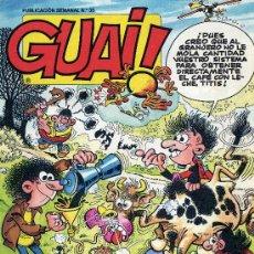 Cómics: GUAI Nº36 (HISTORIETAS DE IBAÑEZ, IZNOGOUD, MIRLOWE,...). Lote 8204612