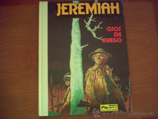 JEREMIAH . OJOS DE FUEGO .Nº 5 (Tebeos y Comics - Grijalbo - Jeremiah)