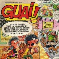 Cómics: GUAI Nº7 (HISTORIETAS DE IBAÑEZ, RAFSEGURA, BLUEBERRY, MIRLOWE,...). Lote 8255883