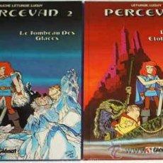 Cómics: PERCEVAN TOMOS 1 Y 2 -- 1986 EN FRANCES DE GLENAT - PERFECTOS. Lote 24827947