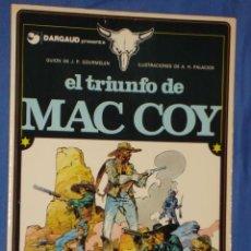 Cómics: MAC COY Nº 4 * EL TRIUNFO DE MAC COY * GRIJALDO/DARGAUD * * AÑO 1979 *. Lote 30267127