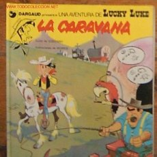 Comics : LUCKY LUKE , LA CARAVANA - ED.GRIJALBO/DARGAUD - VELL I BELL.. Lote 26100480