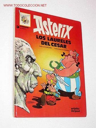 ASTERIX. LOS LAURELES DEL CESAR. GOSCINNY Y UDERZO. (Tebeos y Comics - Grijalbo - Asterix)