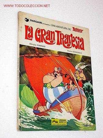 ASTERIX. LA GRAN TRAVESÍA GOSCINNY Y UDERZO. (Tebeos y Comics - Grijalbo - Asterix)