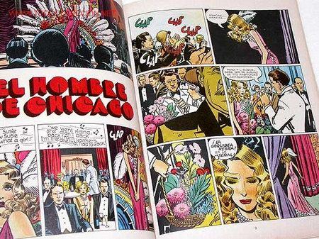 Cómics: EL HOMBRE DE CHICAGO. Giancarlo Alessandrini. UN HOMBRE UNA AVENTURA Nº 3. Grijalbo. Barcelona, 1979 - Foto 2 - 26339459