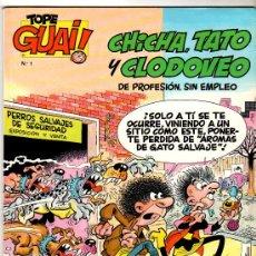 Cómics: GUAI - LOTE DE 44 NºS , 39 NºS DEL 1 AL 45 , Nº 1 DE TOPE GUAI Y 4 MAS, MAGNIFICO ESTADO, VER IMAGEN. Lote 24396746
