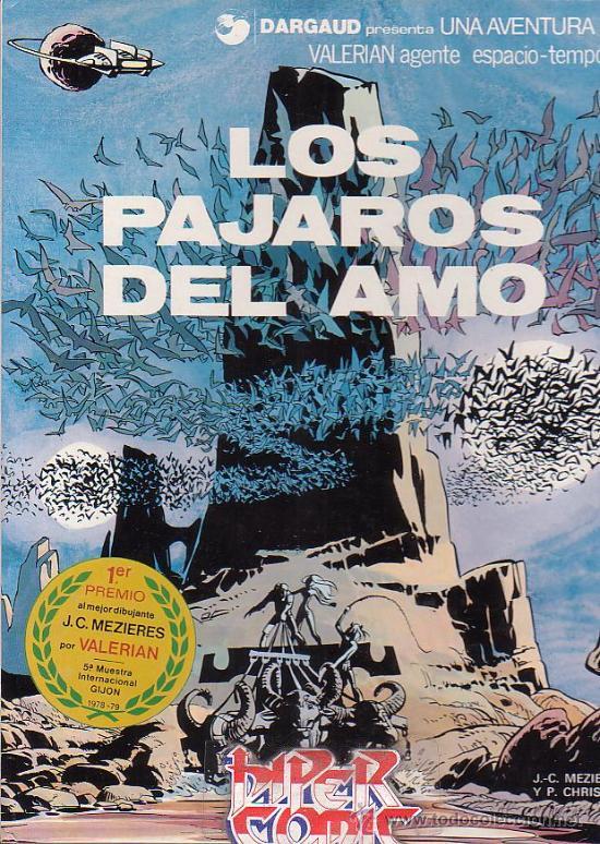VALERIAN Nº 4 - LOS PAJAROS DEL AMO - EDITA : GRIJALBO 1979 (Tebeos y Comics - Grijalbo - Valerian)