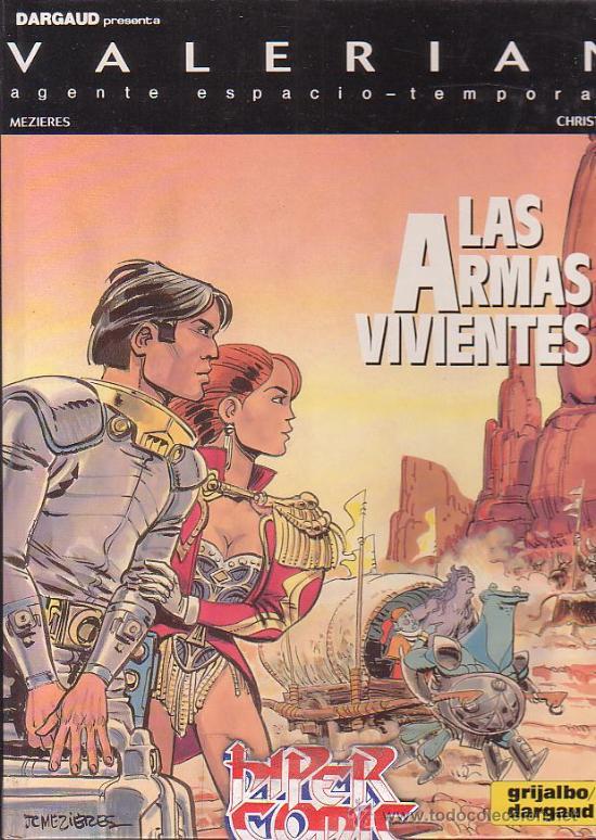 VALERIAN Nº 14 - LAS ARMAS VIVIENTES - EDITA : GRIJALBO 1991 (Tebeos y Comics - Grijalbo - Valerian)