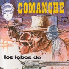 Cómics: COMANCHE - LOS LOBOS DE WYOMING. Lote 14294643