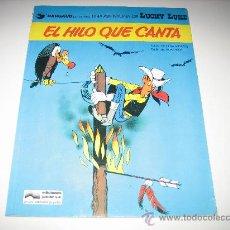 Cómics: LUCKY LUKE - EL HILO QUE CANTA. Lote 26142307