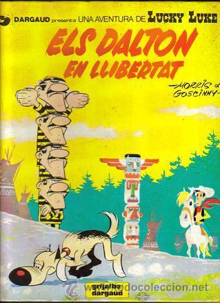 LUCKY LUKE ELS DALTON EN LLIBERTAT (GRIJALBO) ORIGINAL 1983 Nº. 21 Y 30 CATALAN (Tebeos y Comics - Grijalbo - Lucky Luke)