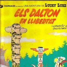 Cómics: LUCKY LUKE ELS DALTON EN LLIBERTAT (GRIJALBO) ORIGINAL 1983 Nº. 21 Y 30 CATALAN. Lote 26658957