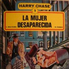 Cómics: HARRY CHASE (1) / LA MUJER DESAPARECIDA POR C. MOLITERNI Y W. FAHER. Lote 26755406