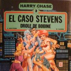 Cómics: HARRY CHASE (2) / ELCASO STEVENS POR C. MOLITERNI Y W. FAHER. Lote 26596970