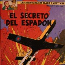 Cómics: BLAKE Y MORTIMER / EL SECRETO DEL ESPADON (1ª PARTE) / EDGARD P. JACOBS. Lote 184678853