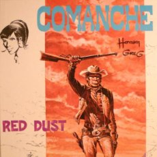 Cómics: COMANCHE / RED DUST, POR HERMANN Y GREG. Lote 27084151