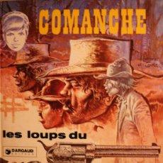 Cómics: COMANCHE / LES LOUPS DU WYOMING POR HERMANN Y GRIEG. Lote 26921255