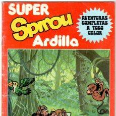Fumetti: SUPER SPIROU ARDILLA NºS 1 Y 8,, UNO Y ÚLTIMO NºR, VER IMAGENES, YOKO TSUNO, GUERRERAS AZULES. Lote 18263378