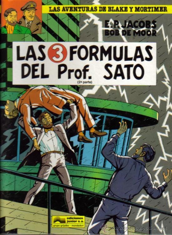 LAS AVENTURAS DE BLAKE Y MORTIMER (GRIJALBO) LOTE ORIGINAL (Tebeos y Comics - Grijalbo - Blake y Mortimer)