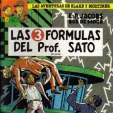 Cómics: LAS AVENTURAS DE BLAKE Y MORTIMER (GRIJALBO) LOTE ORIGINAL. Lote 26732705