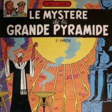 Cómics: BLAKE ET MORTIMER / E.P. JACOBS / LE MYSTERE DE LA GRANDE PYRAMIDE / TOMO 2. Lote 26921249
