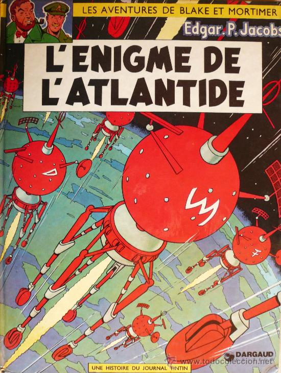 BLAKE ET MORTIMER / E.P. JACOBS / L'ENIGME DE L'ATLANTIDE (Tebeos y Comics - Grijalbo - Blake y Mortimer)