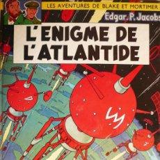 Cómics: BLAKE ET MORTIMER / E.P. JACOBS / L'ENIGME DE L'ATLANTIDE. Lote 26693103