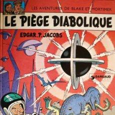 Cómics: BLAKE ET MORTIMER / E.P. JACOBS / LE PIÈGE DIABOLIQUE. Lote 26693101