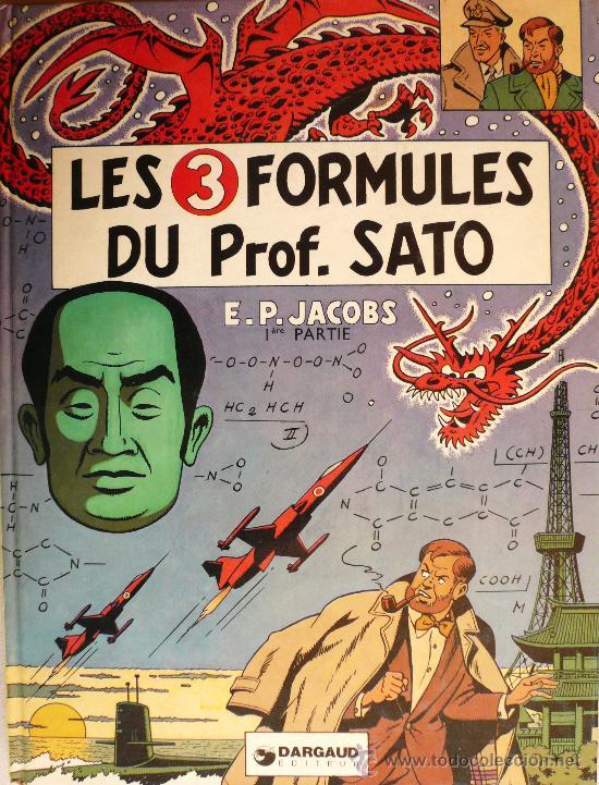 BLAKE ET MORTIMER / E.P. JACOBS / LES 3 FORMULES DU PROF SATO / TOMO 1 (Tebeos y Comics - Grijalbo - Blake y Mortimer)