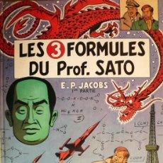 Cómics: BLAKE ET MORTIMER / E.P. JACOBS / LES 3 FORMULES DU PROF SATO / TOMO 1. Lote 26693100